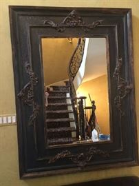 French Carved Mirror 6' x 5' Gorgeous!