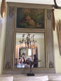 Gorgeous Trumeau mirror