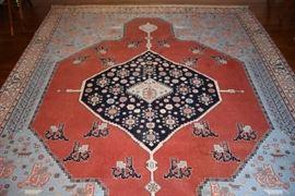 Beautiful Romanina Serapi 9 x 12 Persian Rug
