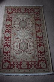 Persian Rug with Signature