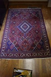 The Blue Coloring really stands out in this Persian Rug