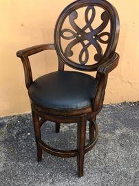 (4) Pottery Barn Swivel Counterheight Bar Stools