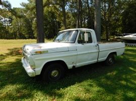 1967 Ford Short Bed Pick Up. Parts or project truck. Not running