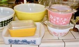 Vintage Pyrex and Fire King