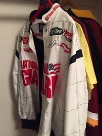NASCAR JACKET - NATIONAL GUARD