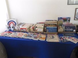 For all Cubbies Fans:  Guides, Magazines, Books and other Sports Memorabilia and Collectibles.