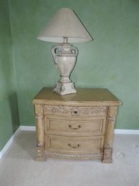 There are TWO of these over-scale side tables available - ... sold seperatly