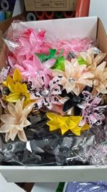 Flowers w clips attached