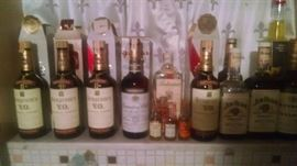 COLLECTIBLE VINTAGE LIQUOR COLLECTION...SOME SEALED