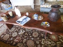 Vintage Knotty Pine Cocktail Table