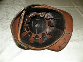 Our client has told me that these helmets came to her through her husband's uncle who served in Europe during World War 2.