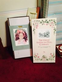 Large Great American Doll - Martina - with box and all certification