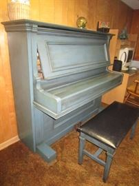 Wegman upright piano serial #12507