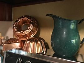 Love the copper and enamel together
