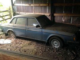 1984 GL Volvo, not running.