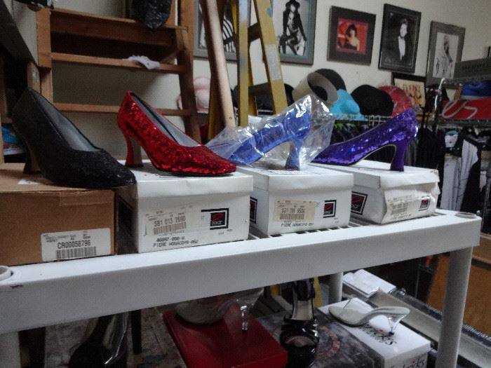 DOROTHY'S SLIPPERS COME IN SEVERAL COLORS!