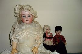 Beautiful Antique Dolls.