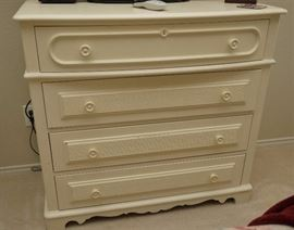 Stanley furniture painted chest of drawers