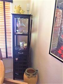Black bar cabinet