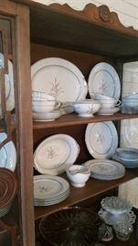 "Noritake ""Kent"" china-service for 8"