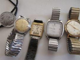 Vintage men's watches