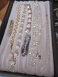 Some of the vintage jewelry