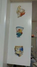 bird wall pockets