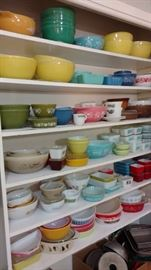 wall of pyrex