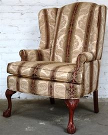 Hickory Hill wingback chair