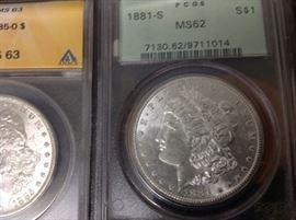 Silver $ graded