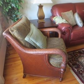 PAIR ETHAN ALLEN SEATING