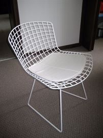 Set of 4 Knoll Bertoia side chairs-purchased 2012