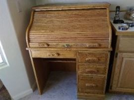 Centennial Roll Top Wood Desk