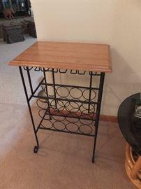 wine rack/table