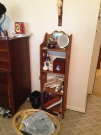 Small wood bookcase!