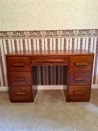 All wood quality desk