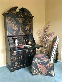 Chinoiserie Writing Desk