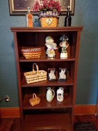Longaberger baskets, Jim Beam bottles, etc.
