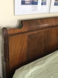 Lammerts Furniture company sleigh bed