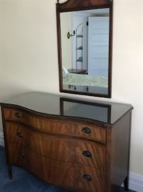 Lammerts Furniture company dresser and mirror