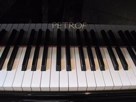 "1999 Petrof Model III 5' 8"" Grand Piano with Bench, both in Ebony. Buy It Now for $8,500. Call 952-261-6461 to arrange for a pre sale showing."
