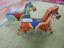 Pr. Vintage English Carnival Horses