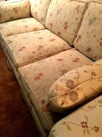 Now...Inside...We have Items Priced To Move At This One Day Sale!  Here's A Nice 3 Cushion Fine Design Sofa...