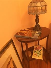 Cute Side tables and Lamps...
