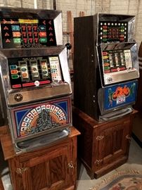 Orrr Two Bally Slot Machines!...