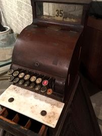 You Can Get This Antique cash Register For Your Barber Shop Business!...