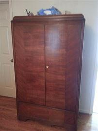 Circa 1920's armoire