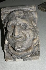 Corbel with an interesting face!