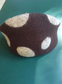 Felted wool hat by Erratica Jean Hicks: Seattle