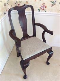 Henkel Harris, Virginia Galleries, Dining Room Arm Chair